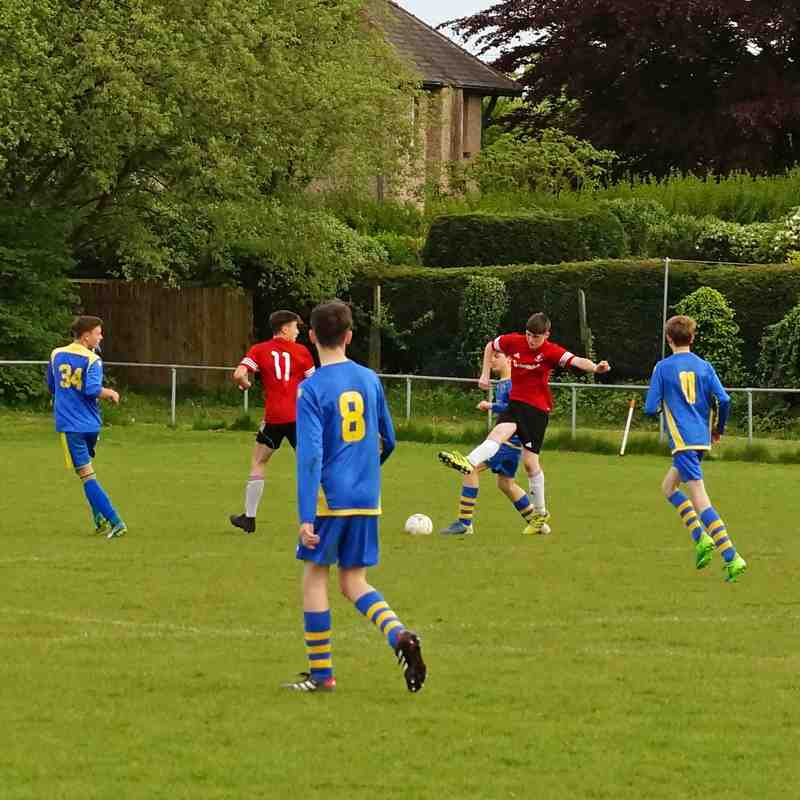 Brighouse Yellows U15 v Elland U15B