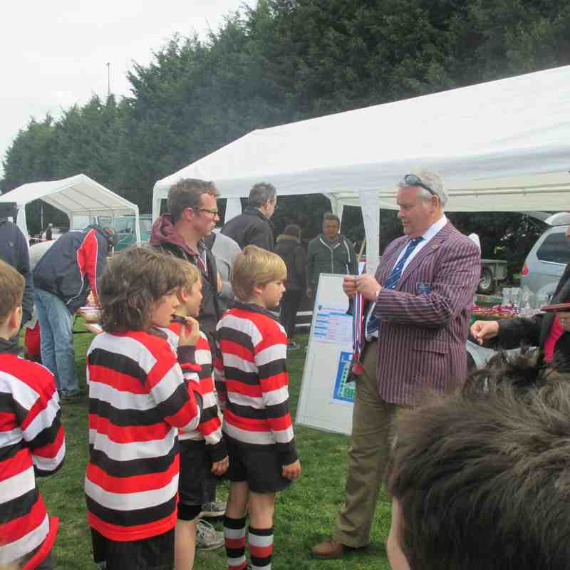 Frome Under 10 Rugby Tour Havant April 2015