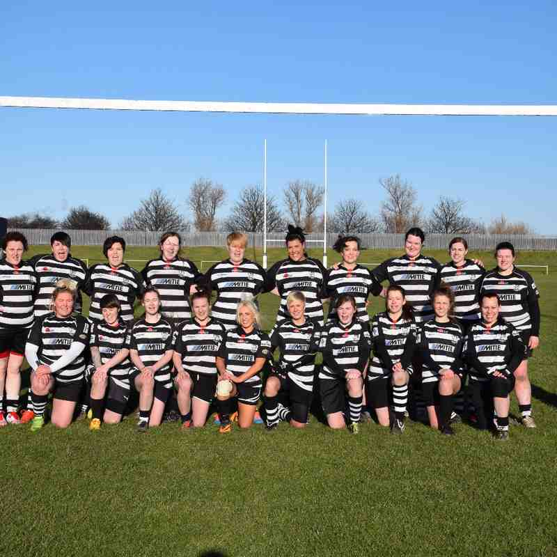 Home game against Acklam 1st Febuary 2015