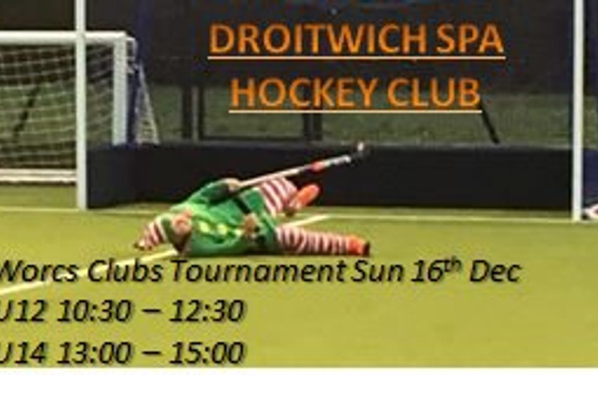 Sun 16th Worcestershire Clubs Junior Tournament
