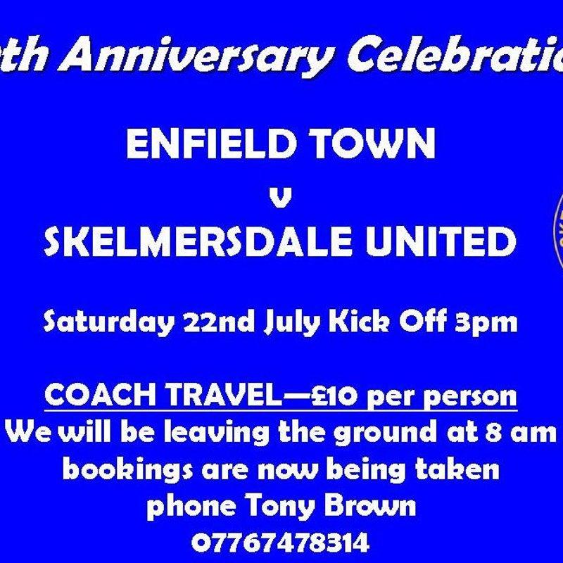 Enfield v Skelmersdale United Saturday 22nd July