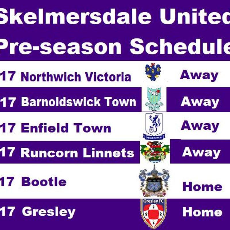 United Confirm Pre-Season Schedule