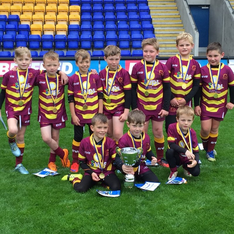 Under 8's Maroons  beat Rochdale Mayfied 9 - 8