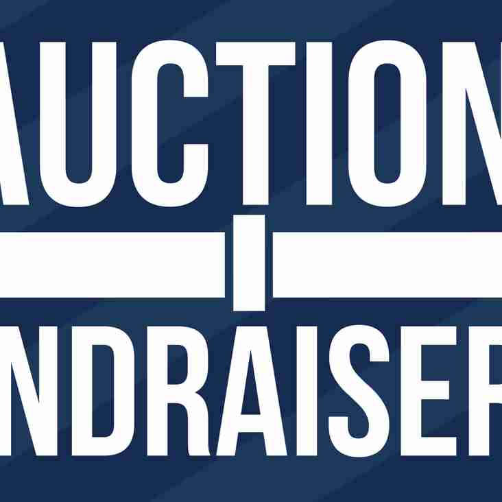 Clubs first ever auction night!
