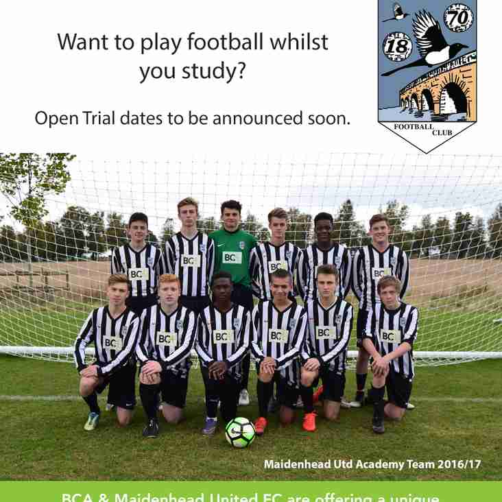 Maidenhead United Academy