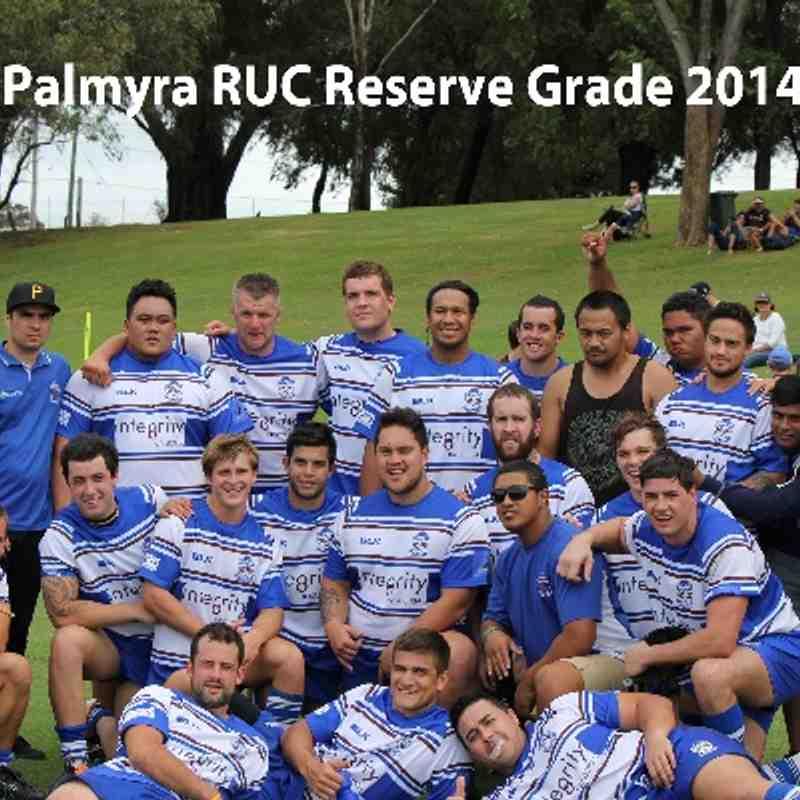 Palmyra Reserves 32 v University 10 29th March 2014