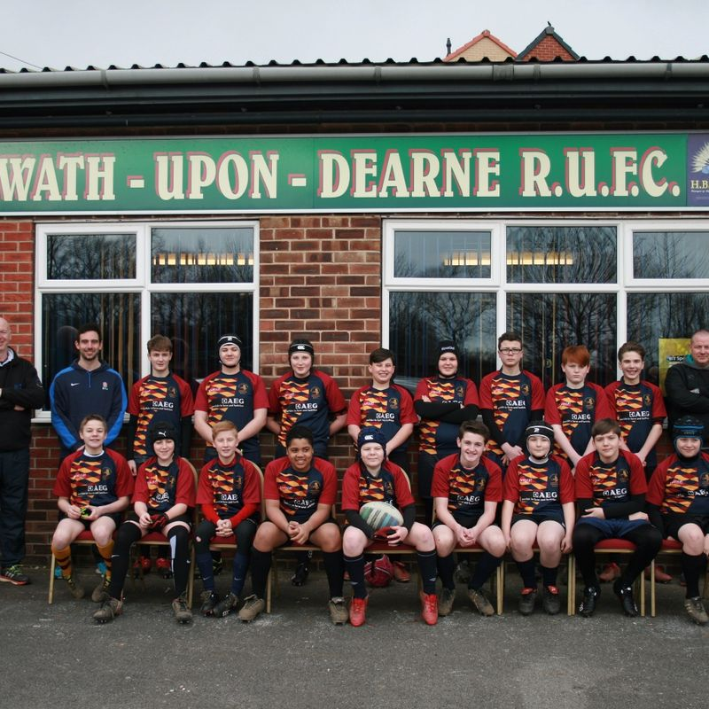 Under 14s beat Heath RUFC  17 - 5