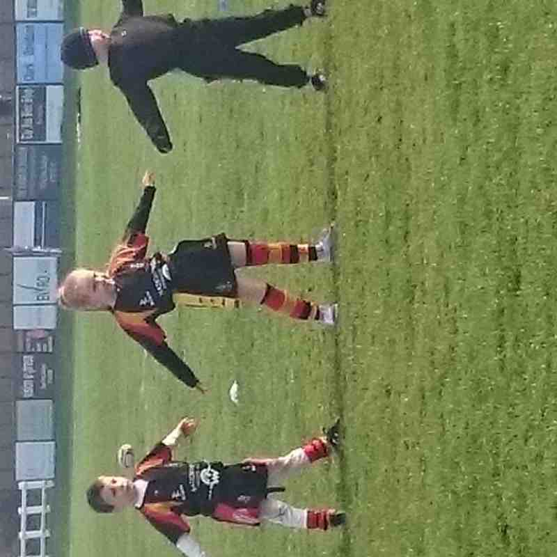 (chloes hughes) under 7's first game