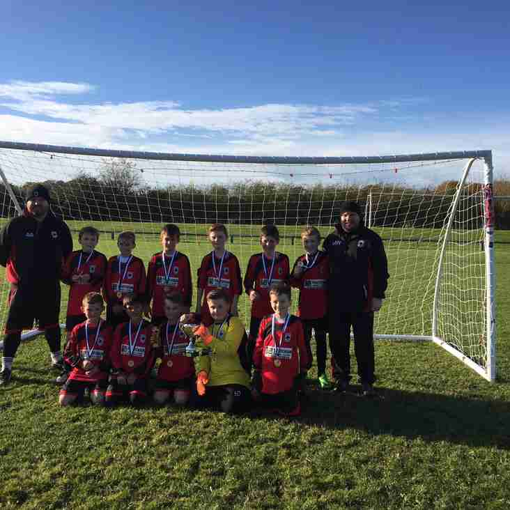 U11 Colts Win Winter Trophy Event - League 1