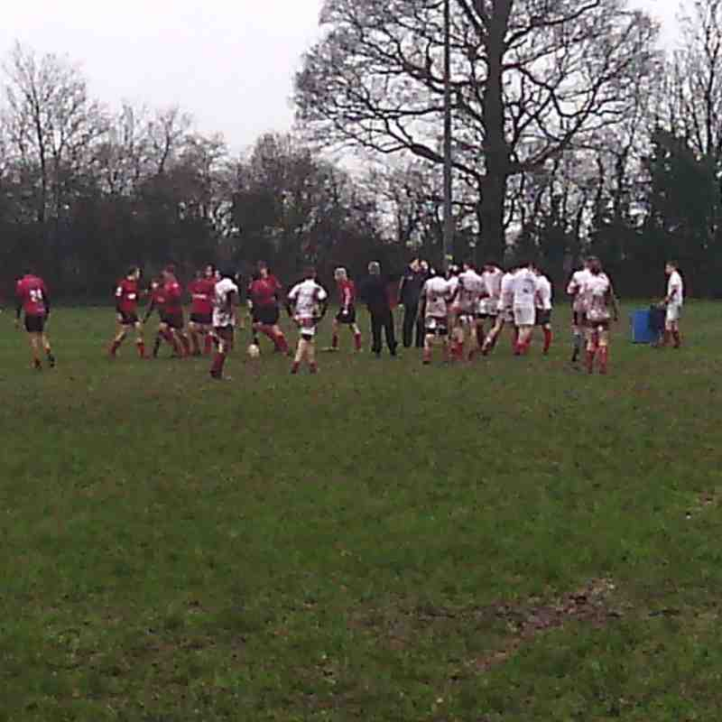 Whitchurch vs Chester U15s Oh What fun in the mud