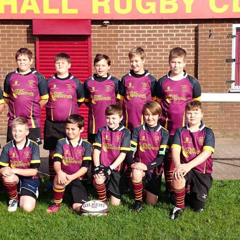 Under 12's Team Photo 2014 -15