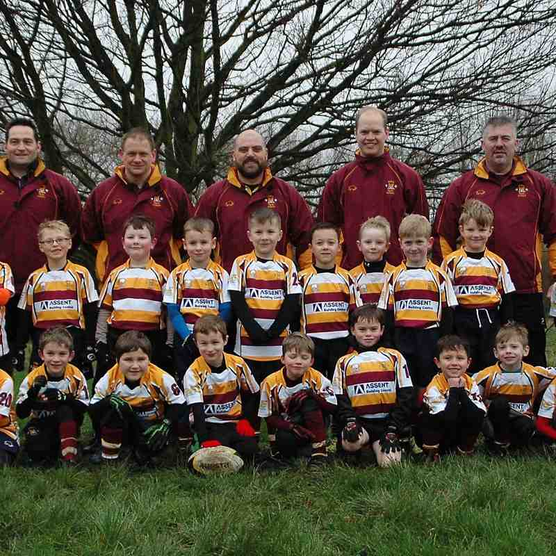 U7's squad photo 31st January 2015