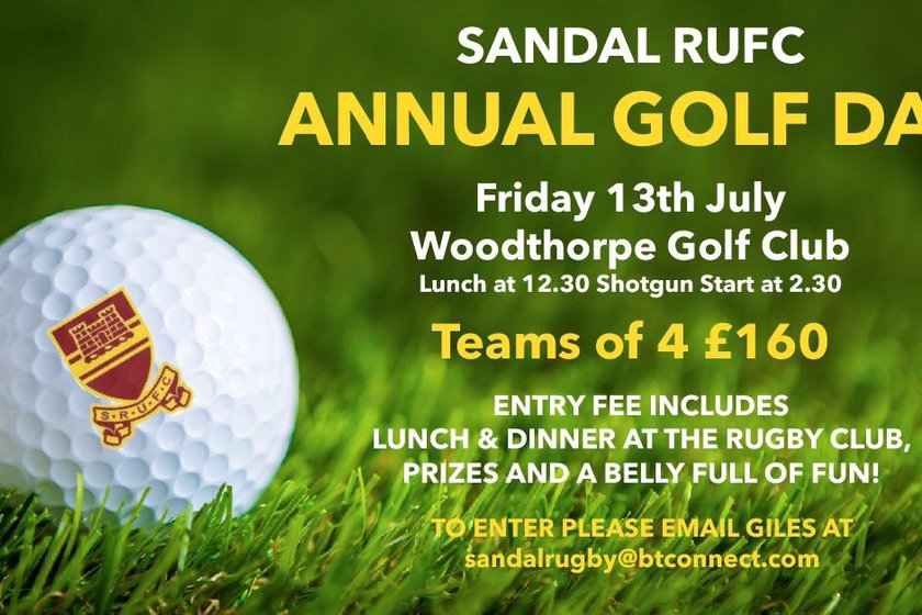 Annual Sandal RUFC Golf Day
