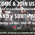 Autumn International - England V South Africa