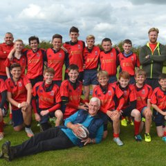 The Winning S1/S2 & S3/S4 7s Teams @ D&G Festival