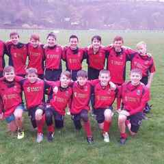 U14s win away at Maxwelltown High