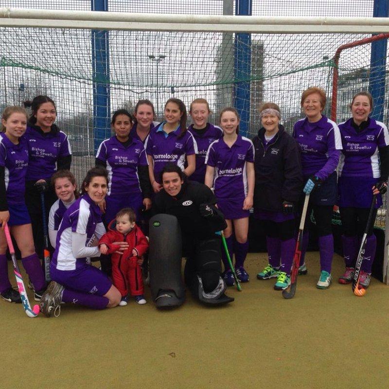 Ladies 3rd Team beat Chelmsford 4 2 - 3