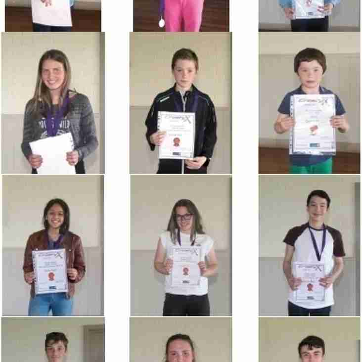 Junior Awards Winners 2016