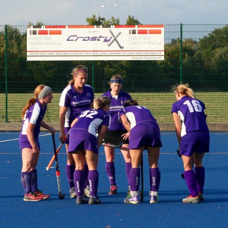 Ladies 2nd Team beat East London 4 3 - 1