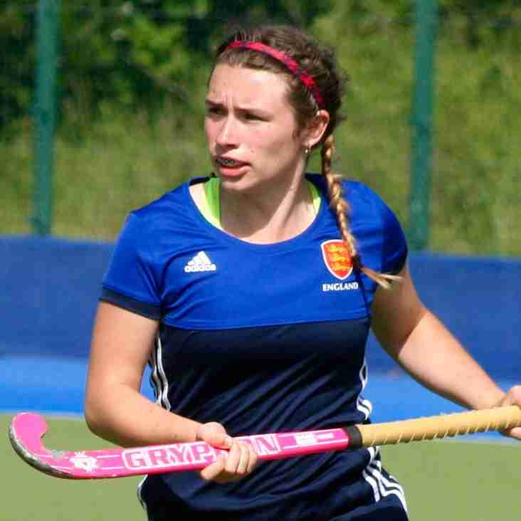 Ladies 1 Player Called up For England U16 Duties