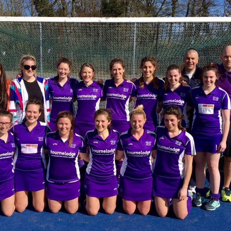 Ladies 1st Team lose to Burnt Ash 1 1 - 2