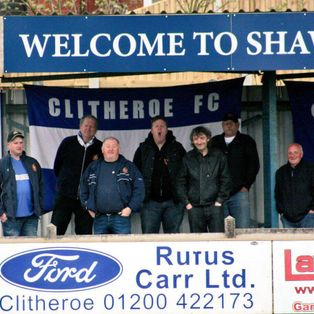 Clitheroe 2-4 Trafford FC