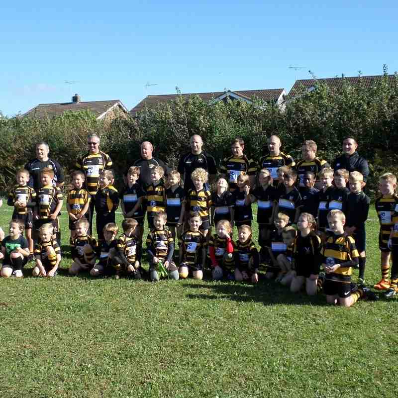 Hornets Rebels (under 8s) vs Nailsea & Backwell.