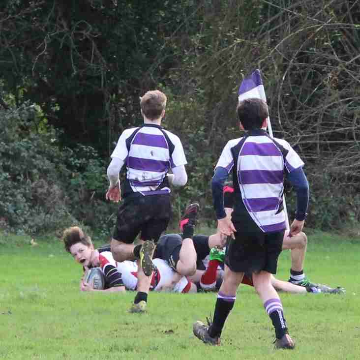 U14's against Woodford Sunday 15th November 2015