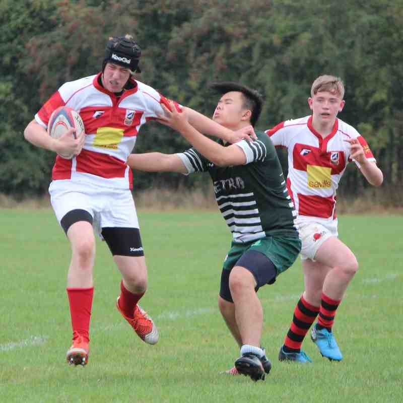 U15 Basildon HOME 18th September 2016 Won 49-5