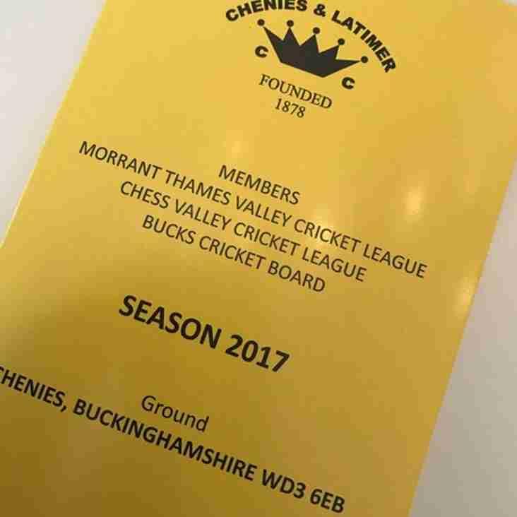 2017 fixtures...