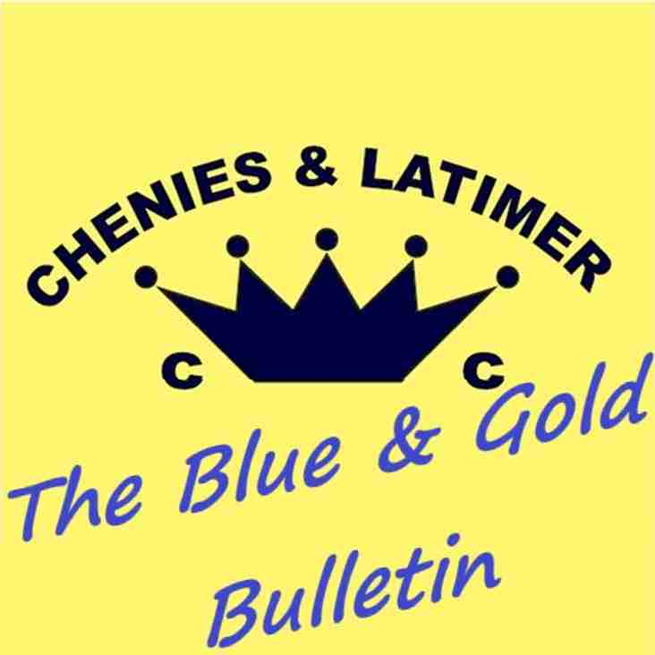 The Blue & Gold Bulletin - 15 July