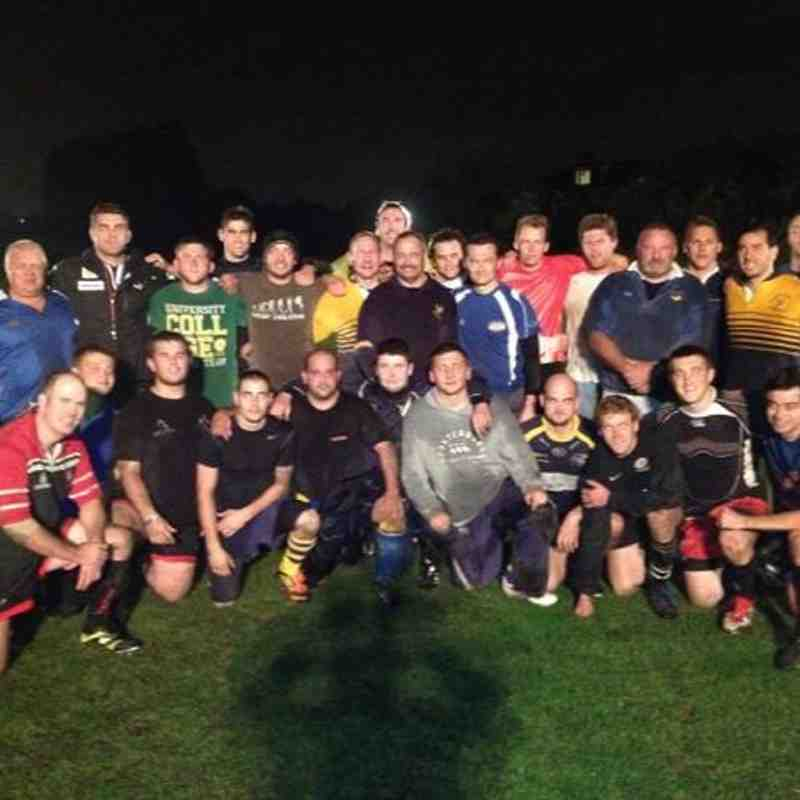 Nick Easter Trains with RPRFC