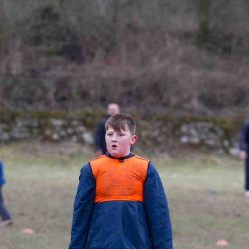 U11's Training Feb 24