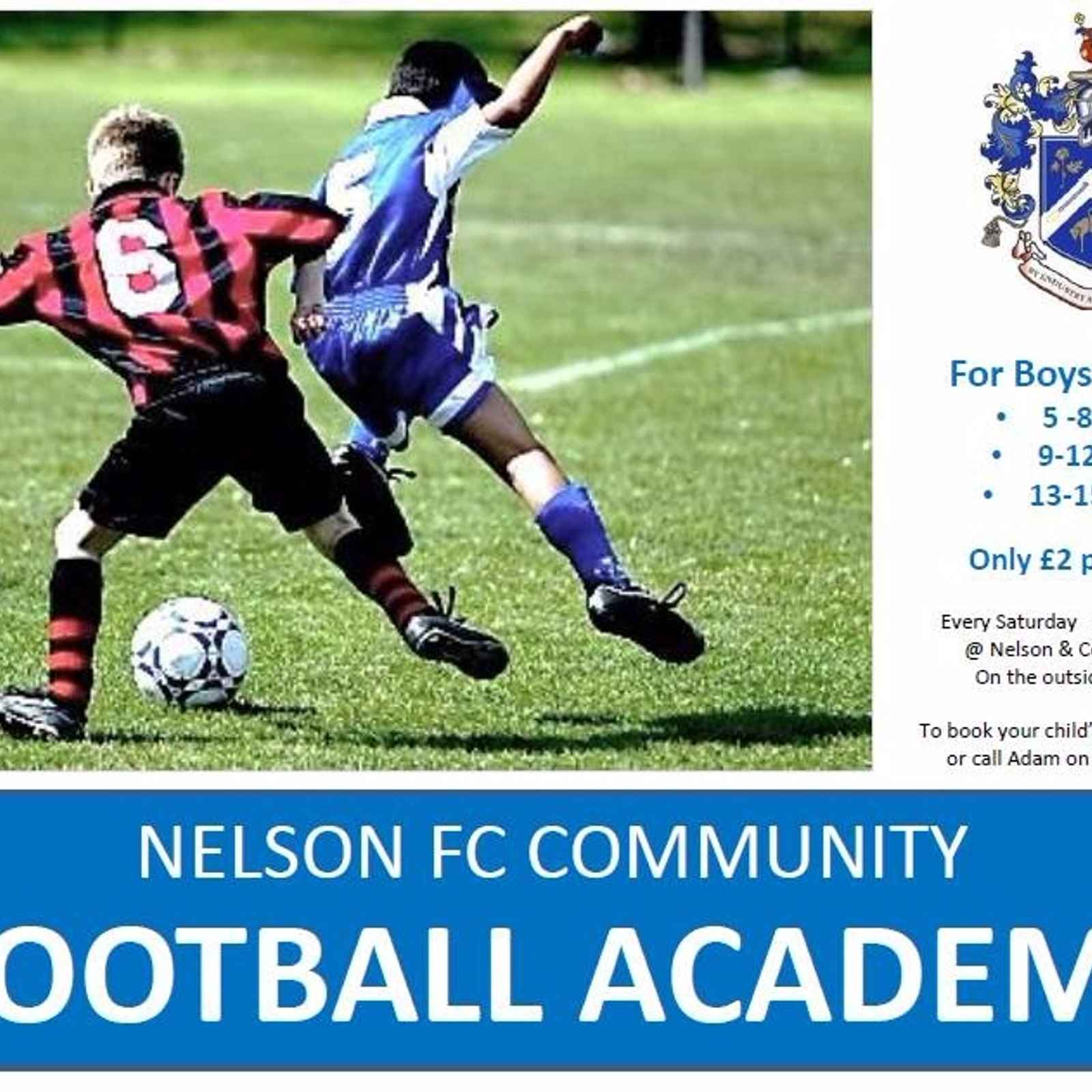 Junior Football Academy  this week