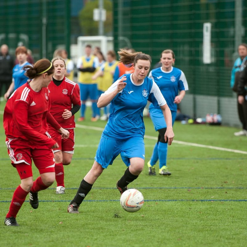 Admiralettes in fifth gear as the Blues get back to winning ways
