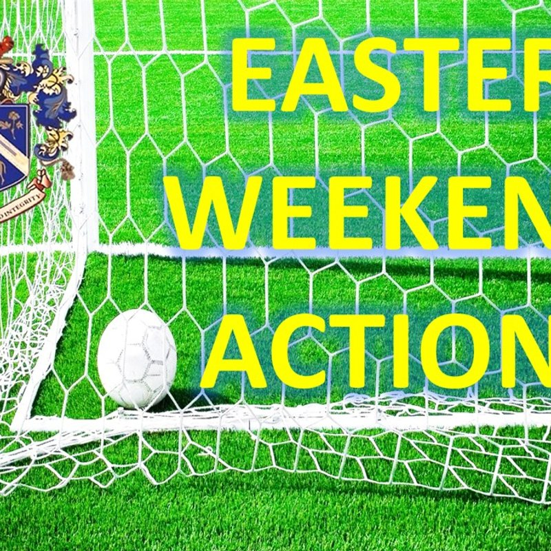 Blues in action this Easter Weekend