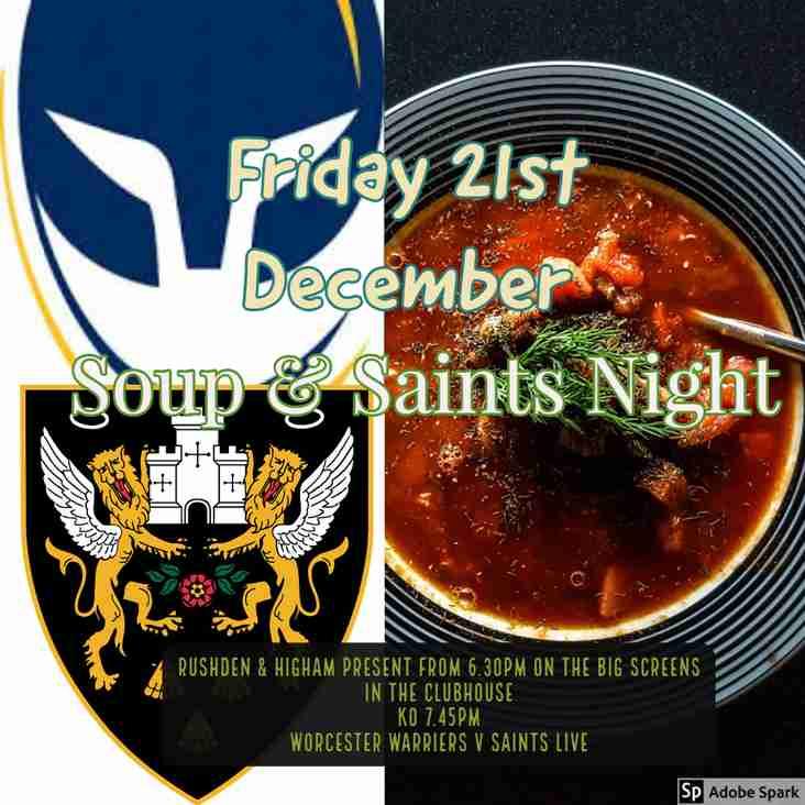 Soup & Saints Night