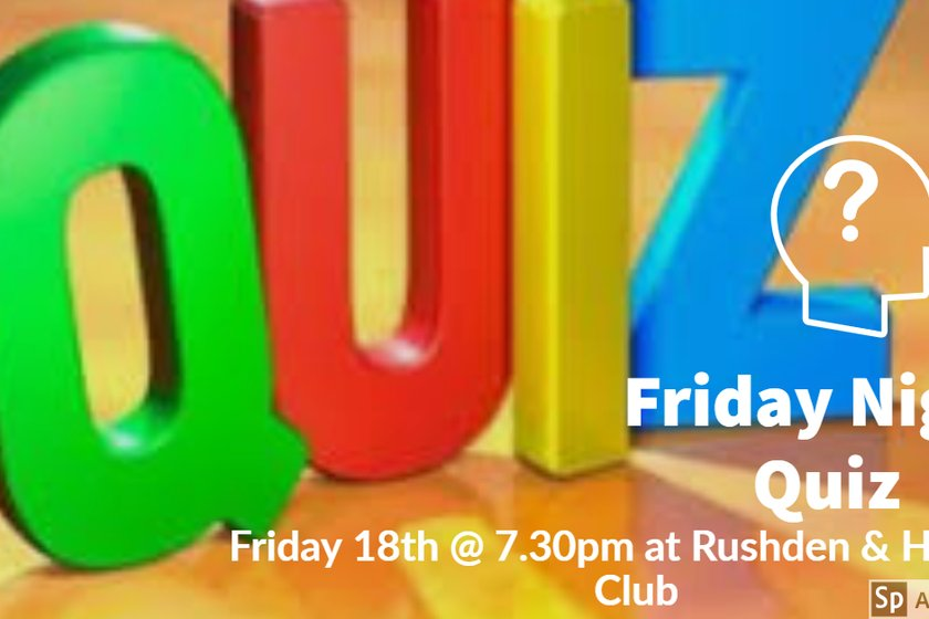 Friday Quiz Night One Time only Move