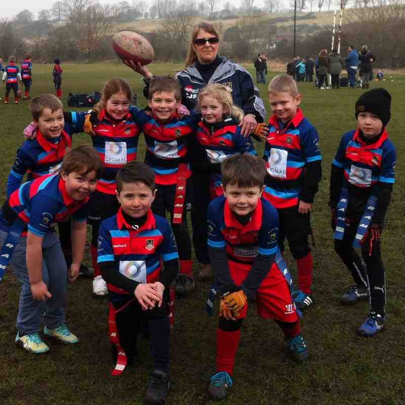 Bishop Aukland / Redcar vs Westoe U7's 15/02/15