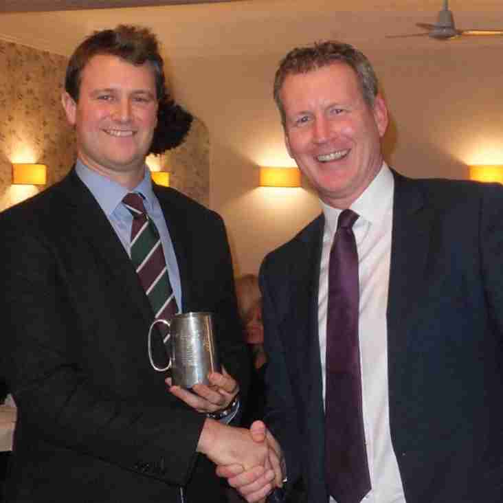 Liam tops Sidmouth batting stats in title winning season