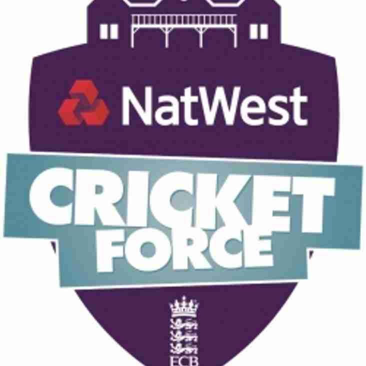 Natwest CricketForce Day - Saturday 24th March 2018