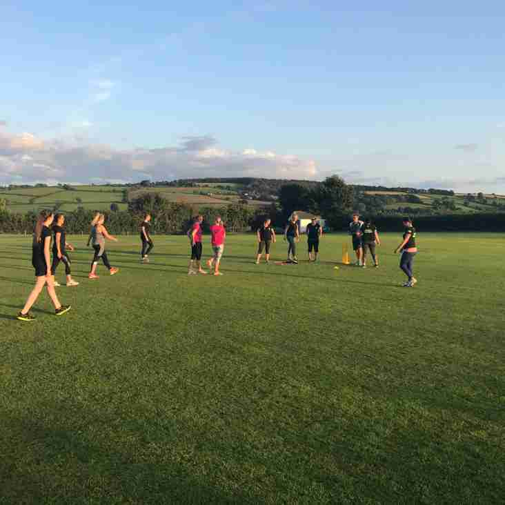 Bradninch  Ladies vs  Sidmouth Ladies - Tuesday 15th August