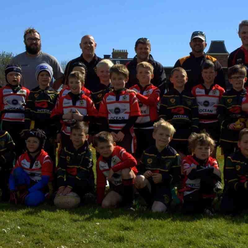 U8 Rugby Tour v Paignton