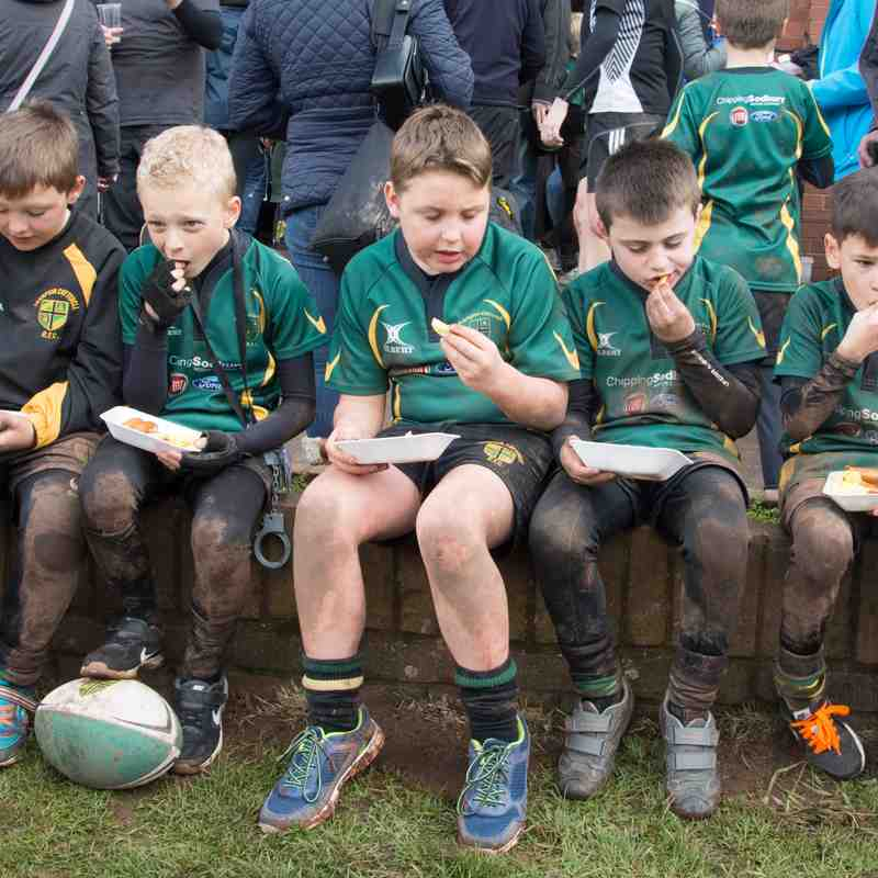 U9 Rugby Tour 2017 vs Paignton vs Nailsea