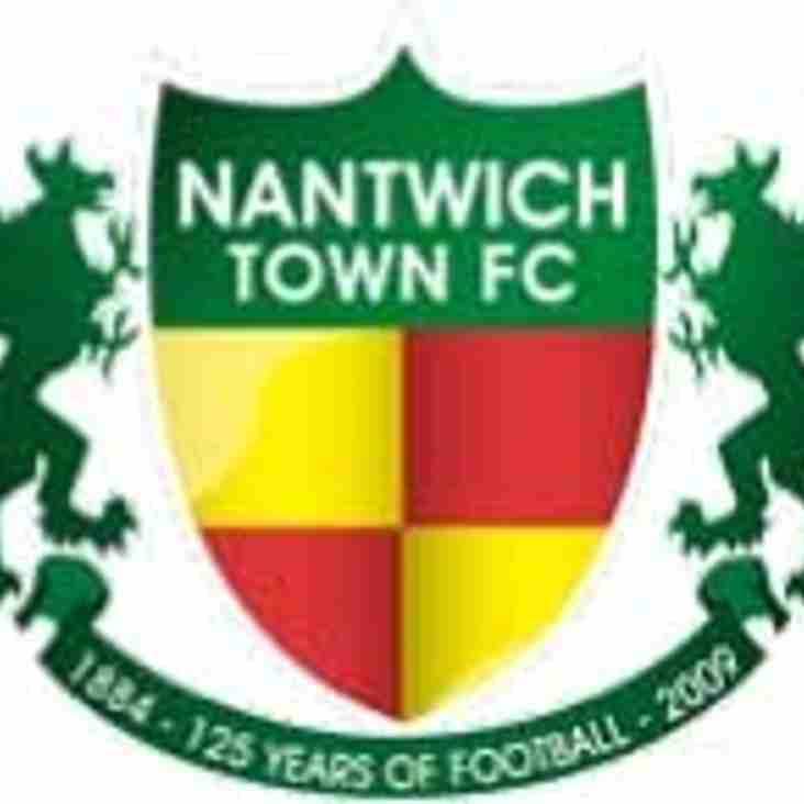 Important Notice - Nantwich Town vs Chester FC