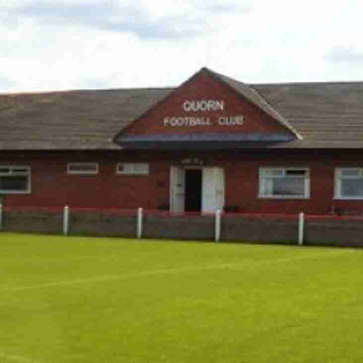 Dudfield Appointed As Quorn Boss