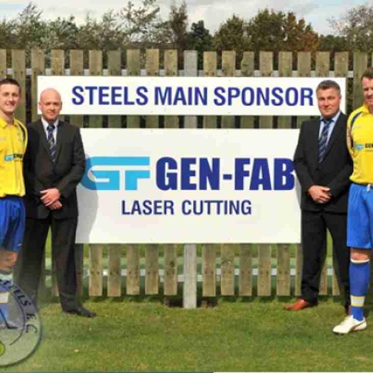 New Sponsors For Steels