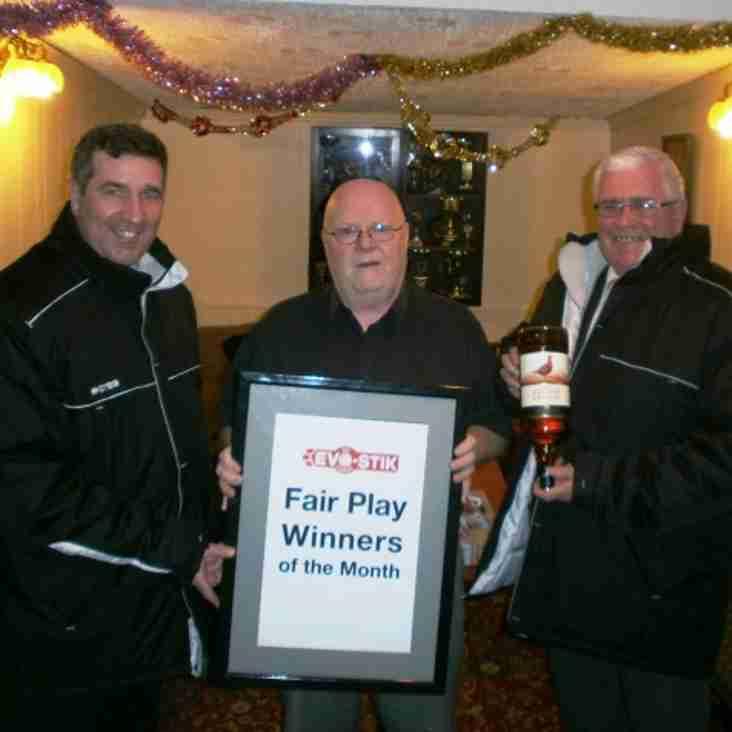 First Division South Fair Play - November