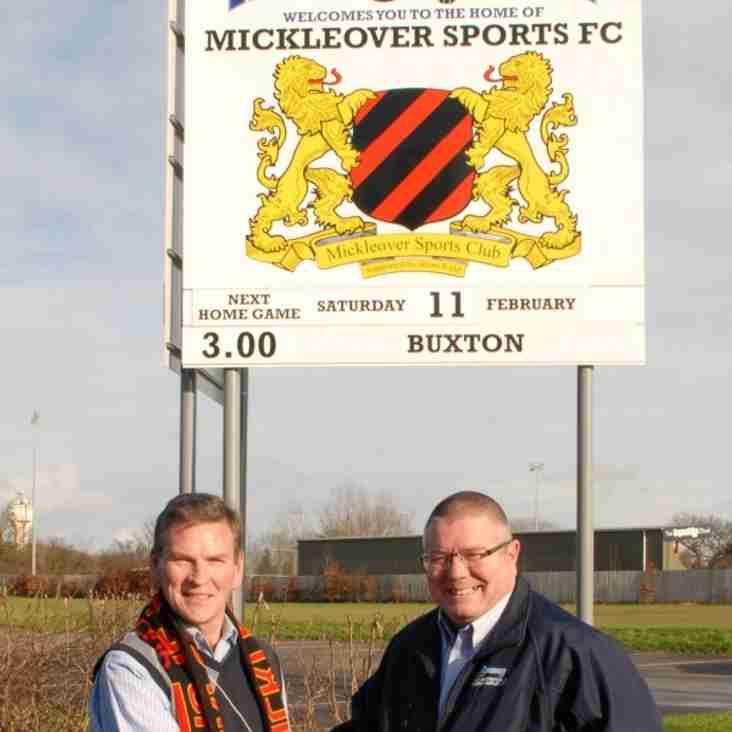 Stadium renamed at Mickleover