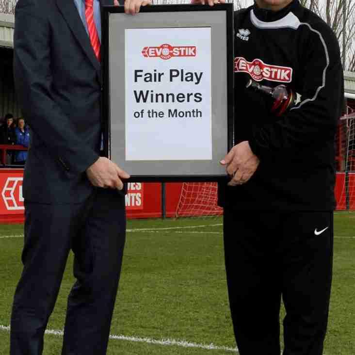 Fair Play - First Division South
